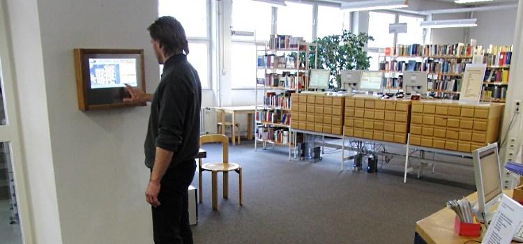 BibNavi in der Stadtbibliothek Tübingen