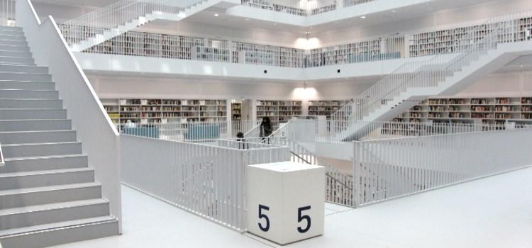 BibNavi in der neuen Stuttgarter Stadtbibliothek